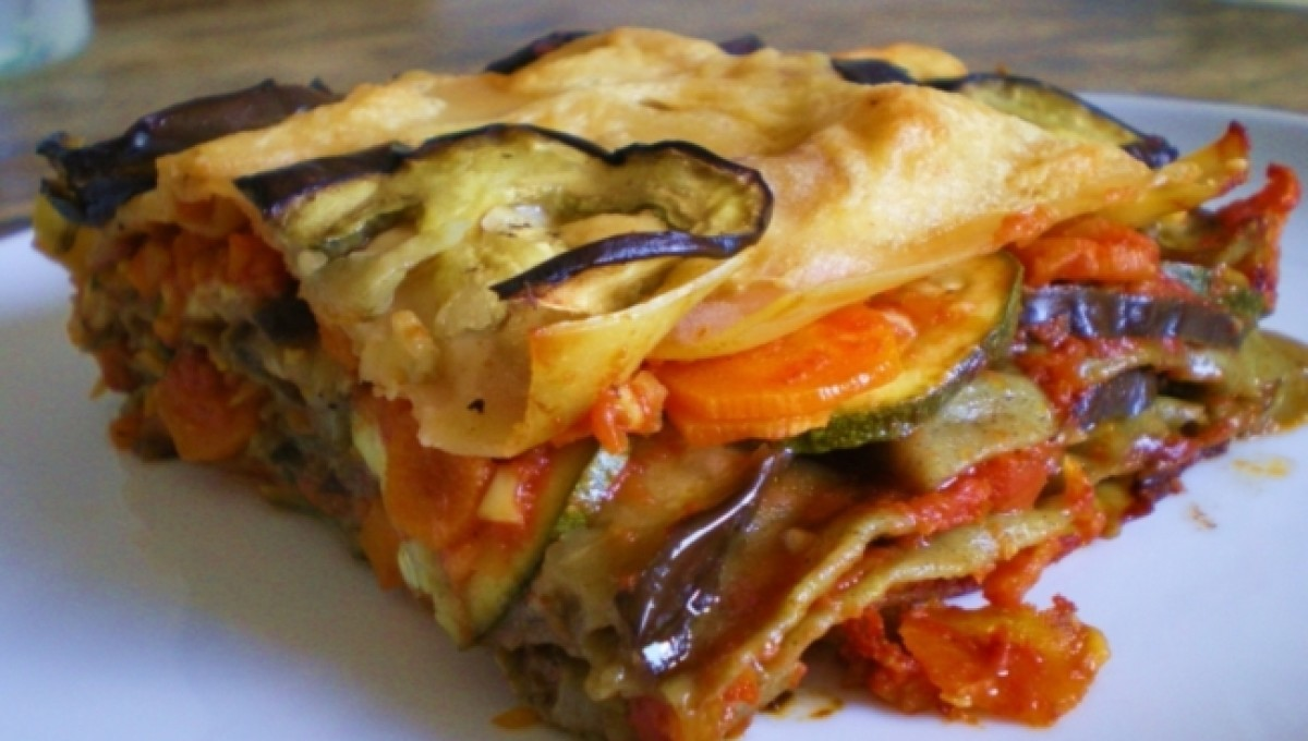 Lasagna di verdure e Parmigiano