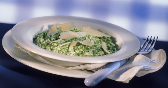 Risotto verde al Parmigiano