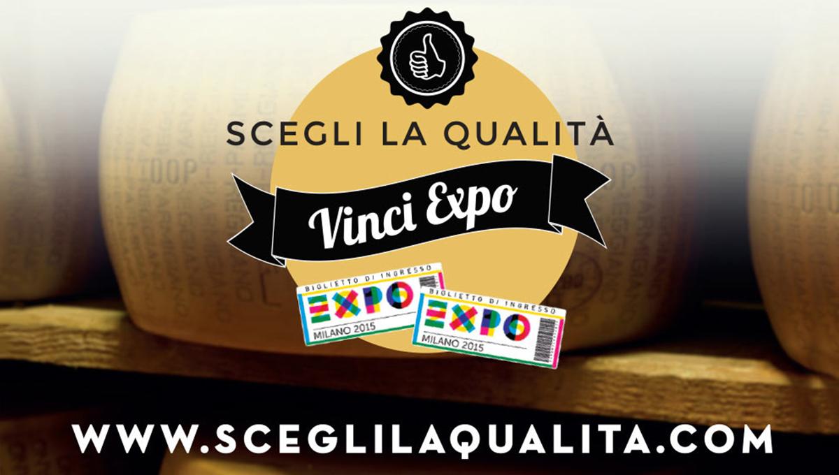 Scegli la qualità, vinci EXPO