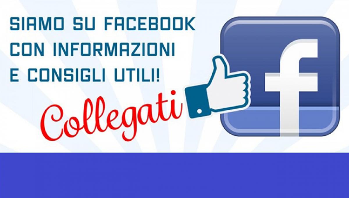 La nostra presenza su Facebook