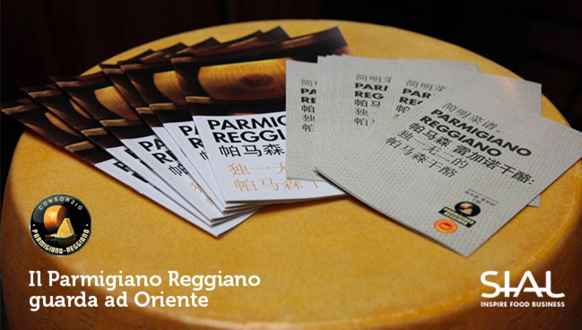 Il Parmigiano Reggianoguarda ad Oriente