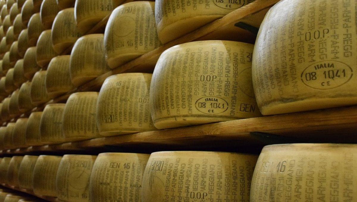 Gli ingredienti del Parmigiano Reggiano