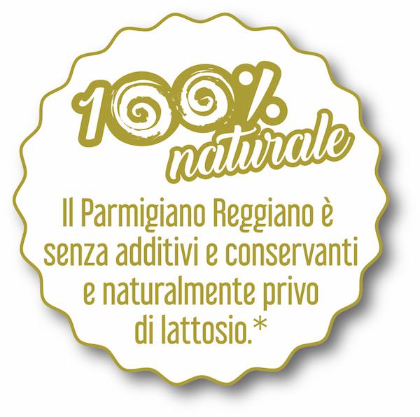 Il Parmigiano Reggiano non contiene Lattosio
