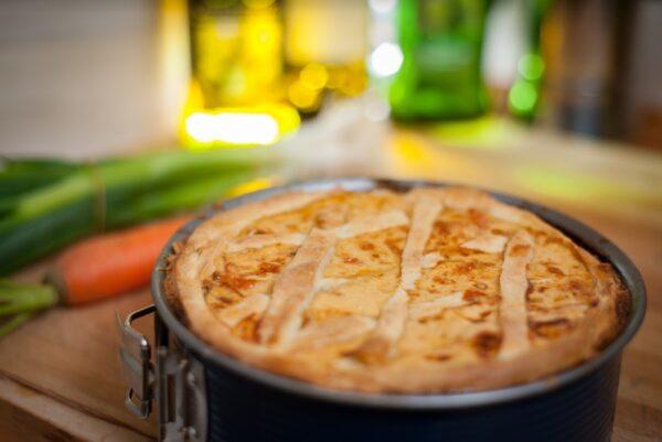 torta salata al parmigiano reggiano