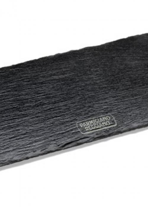 Vassoio in ardesia con manici in legno