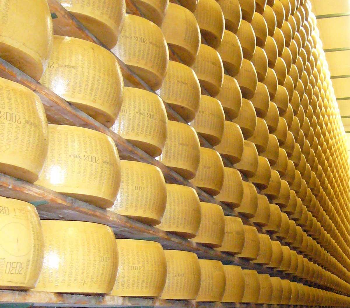 conosci il Parmigiano Reggiano, Caseificio La Madonnina