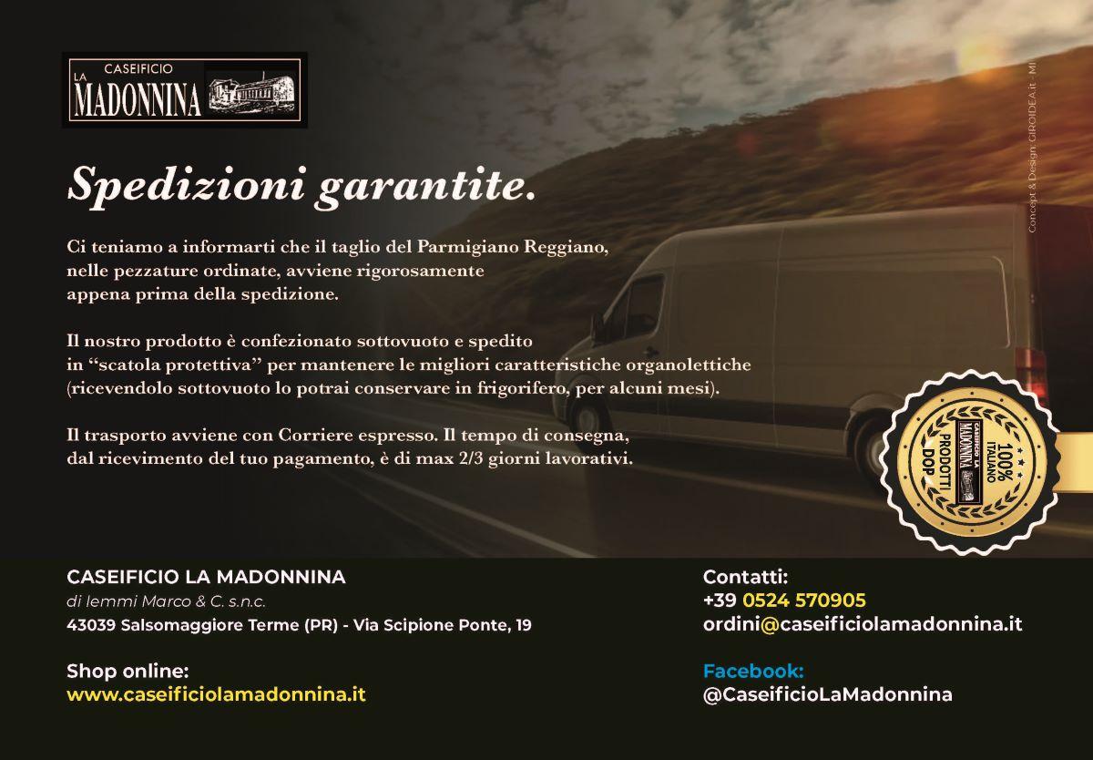 Analisi sensoriale Parmigiano Reggiano - Caseificio La Madonnina